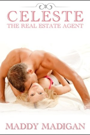 Reading books Celeste The Real Estate Agent