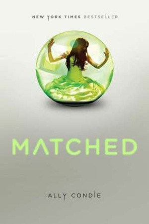 Reading books Matched (Matched, #1)