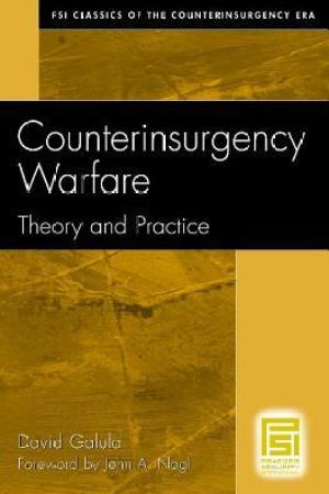 Reading books Counterinsurgency Warfare: Theory and Practice