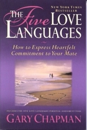 Reading books The Five Love Languages: How to Express Heartfelt Commitment to Your Mate