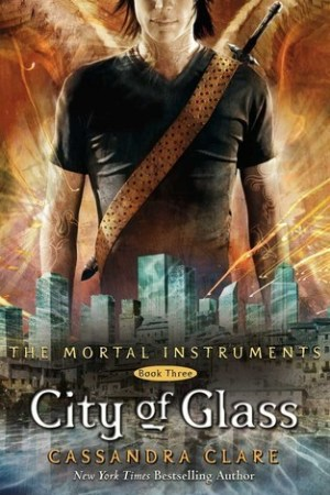 Reading books City of Glass (The Mortal Instruments, #3)