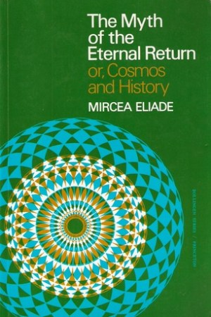 Reading books The Myth of the Eternal Return or Cosmos and History