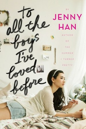 Reading books To All the Boys I've Loved Before (To All the Boys I've Loved Before, #1)