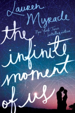 Reading books The Infinite Moment of Us