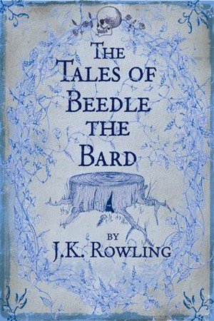 Reading books The Tales of Beedle the Bard