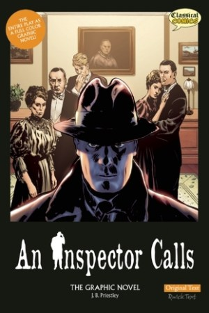 Reading books An Inspector Calls: The Graphic Novel