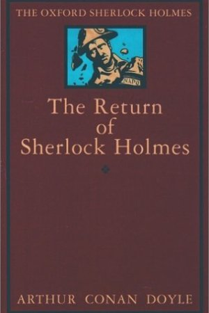 Reading books The Return of Sherlock Holmes