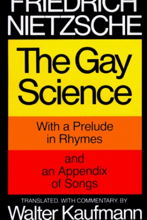 Reading books The Gay Science