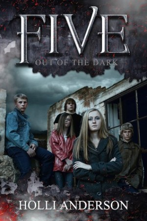 Reading books Out of the Dark (Five, #1)