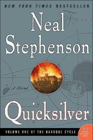 Reading books Quicksilver (The Baroque Cycle, #1)
