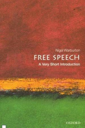 Reading books Free Speech: A Very Short Introduction