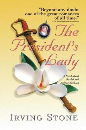 Reading books The President's Lady