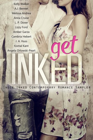 Reading books Get Inked: Indie Inked Contemporary Romance Sampler