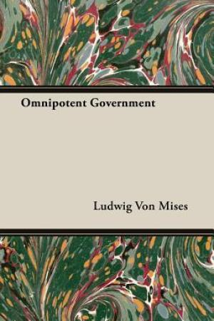 Reading books Omnipotent Government