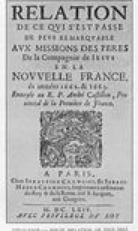 The Jesuit Relations and Allied Documents 1610 to 1791