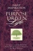 Download Daily Inspiration for the Purpose Driven Life: Scriptures and Reflections from the 40 Days of Purpose pdf / epub books