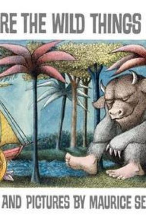 Reading books Where the Wild Things Are