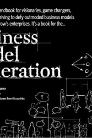Reading books Business Model Generation