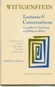 Download Lectures and Conversations on Aesthetics, Psychology and Religious Belief books