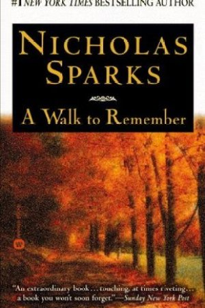 Reading books A Walk to Remember