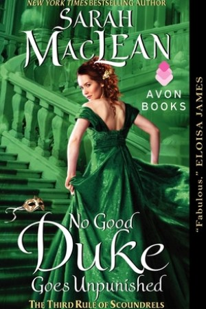 Reading books No Good Duke Goes Unpunished (The Rules of Scoundrels, #3)