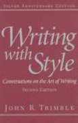 Download Writing with Style: Conversations on the Art of Writing pdf / epub books