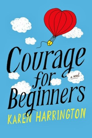 Reading books Courage for Beginners