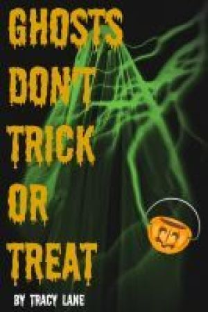 Reading books Ghosts Don't Trick or Treat