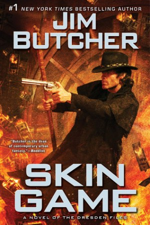 Reading books Skin Game (The Dresden Files, #15)
