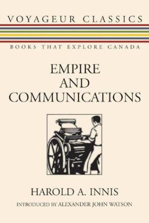 Reading books Empire and Communications