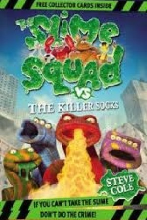 Reading books The Slime Squad Vs the Killer Socks (Slime Squad, Book 5)