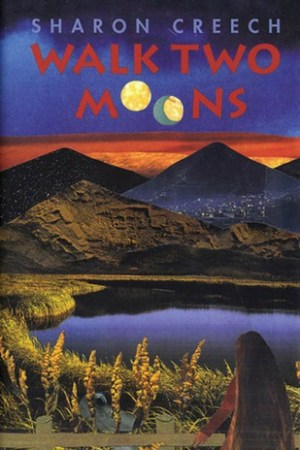 Reading books Walk Two Moons
