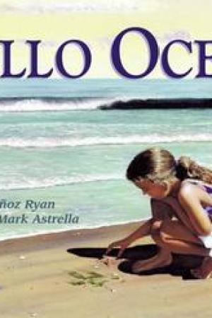 Reading books Hello Ocean