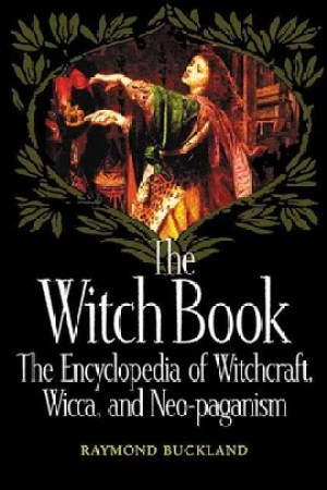 Reading books The Witch Book: The Encyclopedia of Witchcraft, Wicca, and Neo-paganism