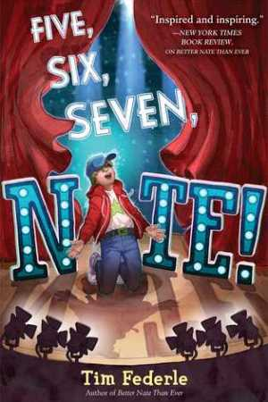 Reading books Five, Six, Seven, Nate! (Better Nate Than Ever #2)