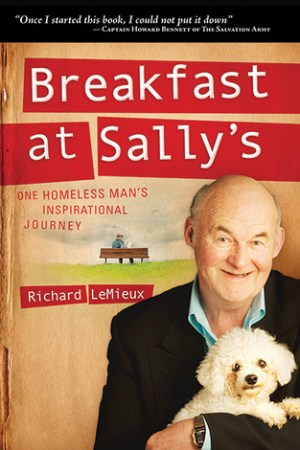 Reading books Breakfast at Sally's: One Homeless Man's Inspirational Journey