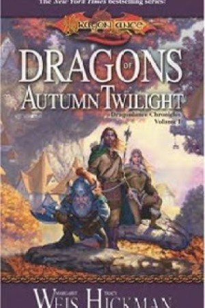 Reading books Dragons of Autumn Twilight (Dragonlance: Chronicles, #1)