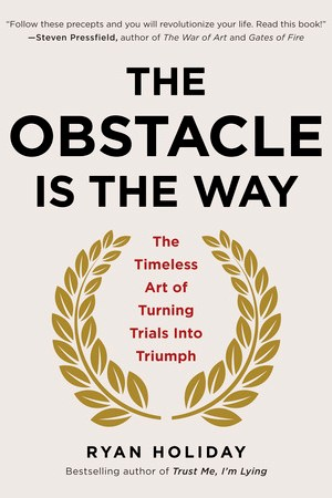 Reading books The Obstacle Is the Way: The Timeless Art of Turning Trials into Triumph