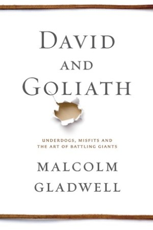 Reading books David and Goliath: Underdogs, Misfits, and the Art of Battling Giants
