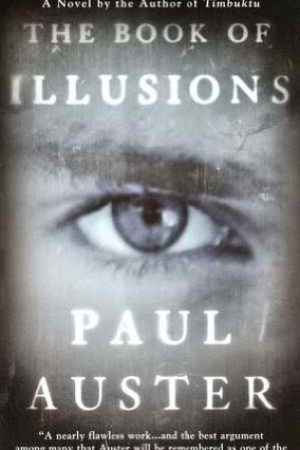 Reading books The Book of Illusions