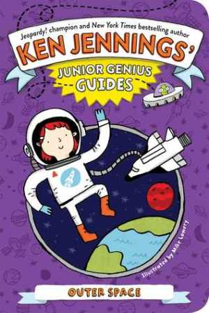Reading books Outer Space (Junior Genius Guides, #4)