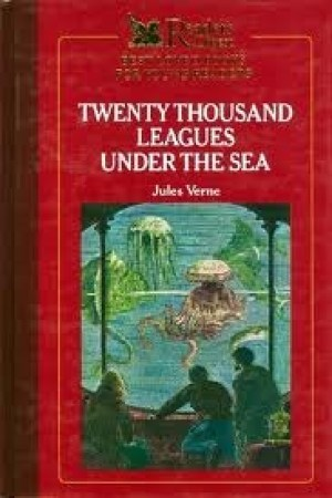 Reading books 20,000 Leagues Under the Sea (Reader's Digest Best Loved Books for Young Readers)
