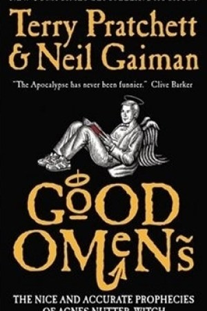 Reading books Good Omens: The Nice and Accurate Prophecies of Agnes Nutter, Witch