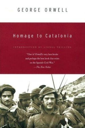 Reading books Homage to Catalonia