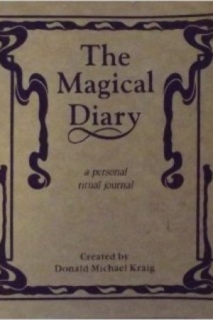 Reading books The Magical Diary: A Personal Ritual Journal