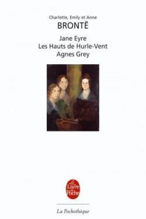 Reading books Jane Eyre / Les Hauts de Hurle-Vent / Agnes Grey