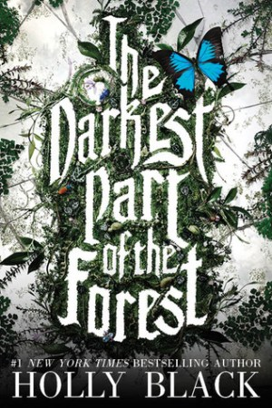 Reading books The Darkest Part of the Forest