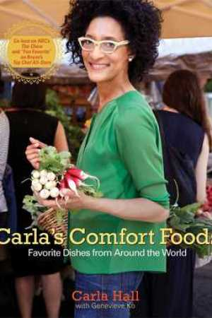 Reading books Carla's Comfort Foods: Favorite Dishes from Around the World