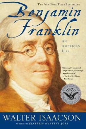 Reading books Benjamin Franklin: An American Life