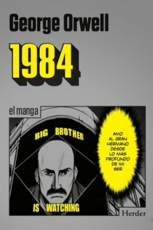 Reading books 1984, el Manga